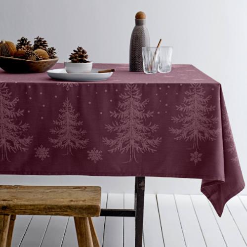 Södahl damask juledug winterland rød