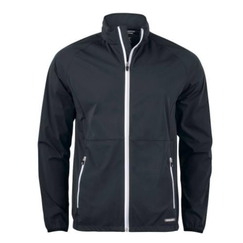 Softshell-jakke-med-logo-Cutter-Buck-Kamloops-herre-sort