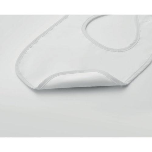 Hagesmæk med logo hvid