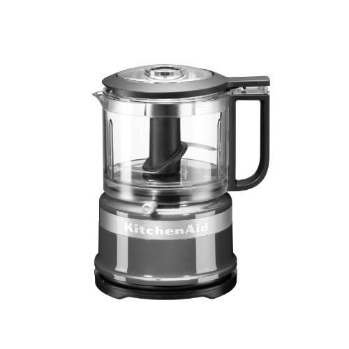 KitchenAid mini foodprocessor sølv