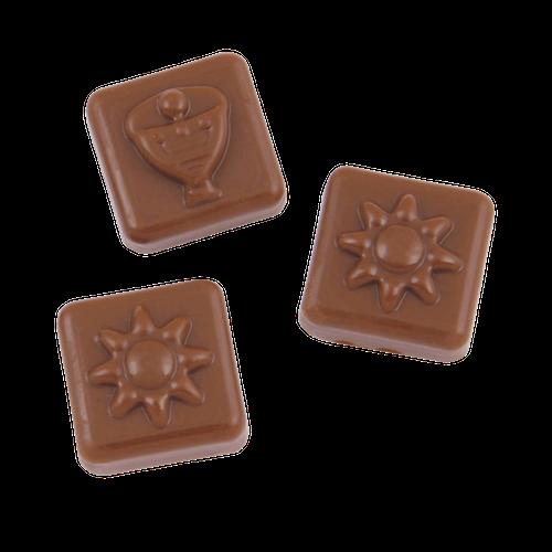 Chokolade julekalender med eget design og logo