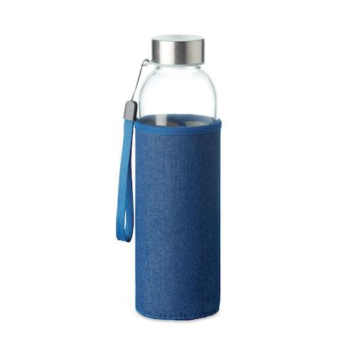 Vandflaske-i-glas-med-logo-model-Utah-denim