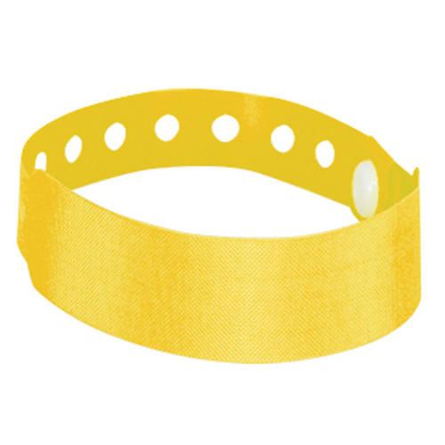 Armbånd med logo, gul