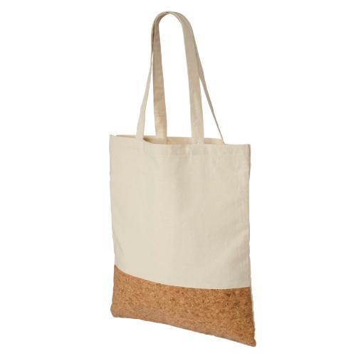 Mulepose i bomuld og kork